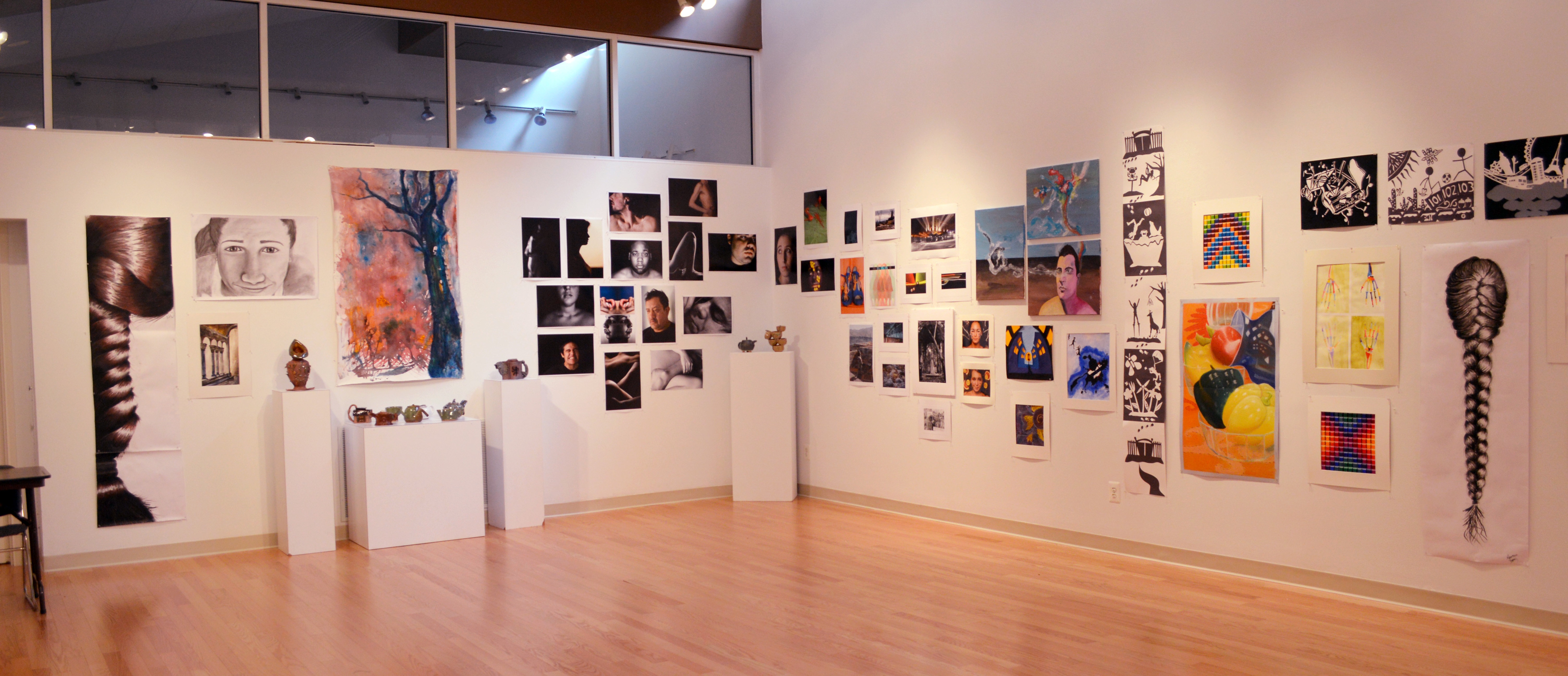 Loyola showcases talented students in annual spring art exhibition