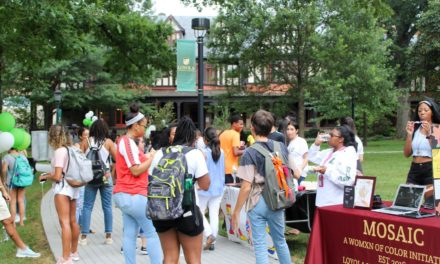 ALANA welcome students back to campus with block party