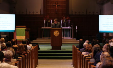 President Rev. Linnane shares vision of change in annual State of the University address