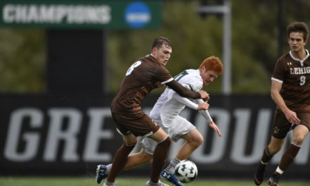 Men's soccer triumphs in regular season finale