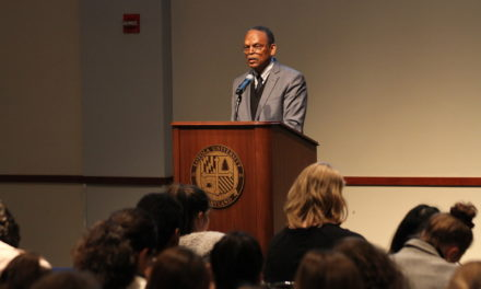 William Julius Wilson dissects race relations at Bunting Peace and Justice Speaker Series
