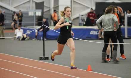 Ohlsson qualifies for championships, and Greyhounds finish strong