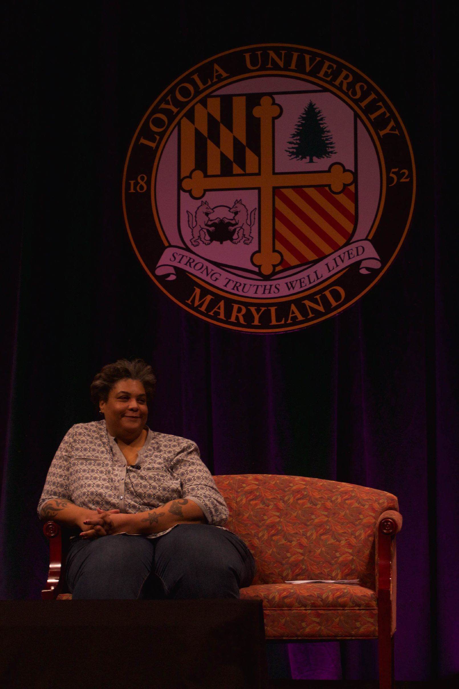 Roxane Gay speaks at the 26th annual MLK Convocation