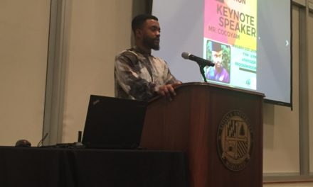 African Student Association hosts Keynote Speaker Mr. Cocoyam