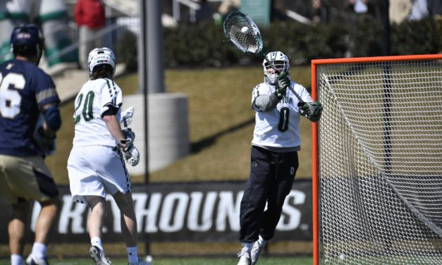 Spencer breaks points record as men's lacrosse dominates Navy