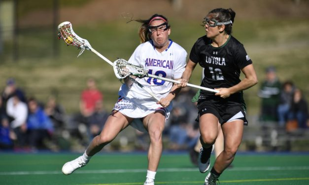 Women's Lacrosse falls to Princeton, trounces Lafayette in back-to-back road games